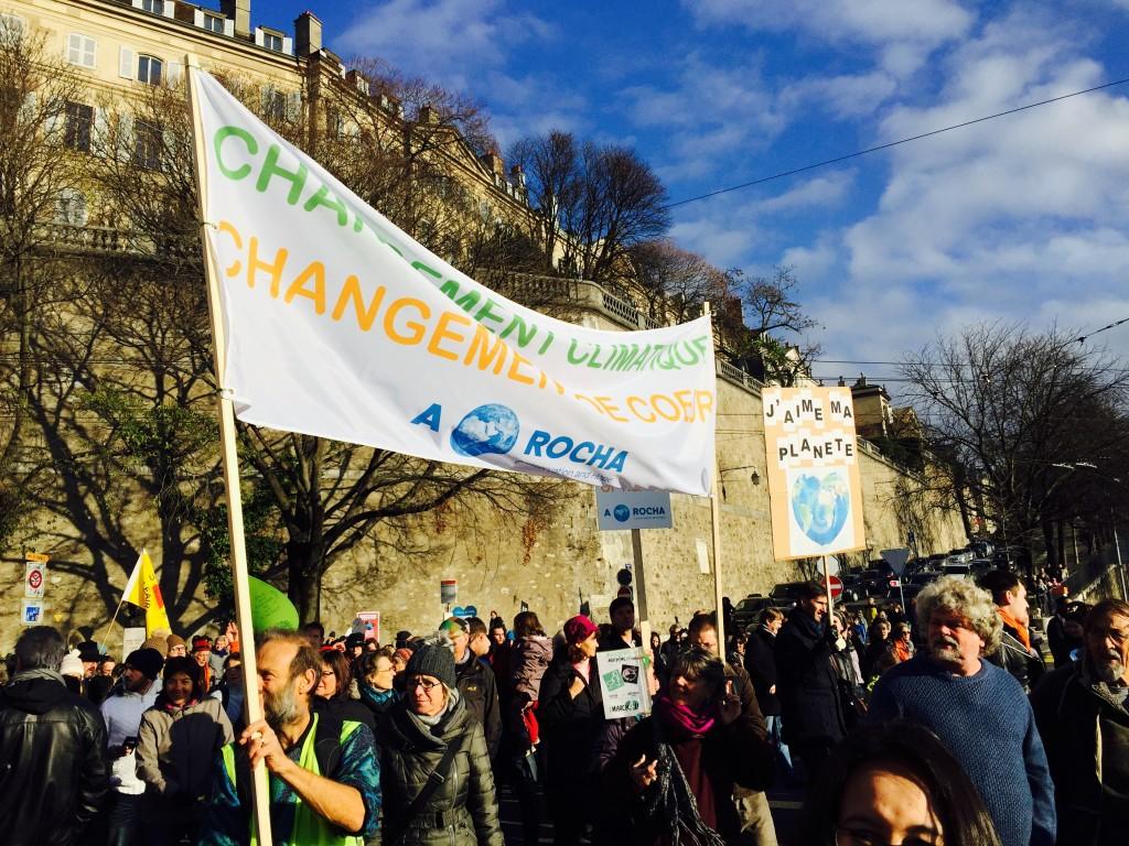 Marche pour le Climat à Genève le 28.11.2015