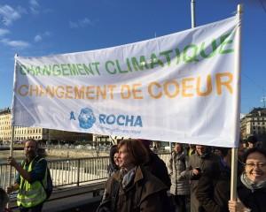 Marche pour le C limat à Genève le 28.11.2015